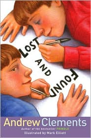 Lost and Found by Andrew Clements: Book Cover