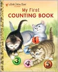 Book Cover Image. Title: My First Counting Book, Author: by Lilian Moore