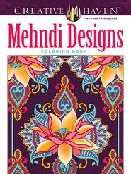 Mehndi Designs Coloring Book