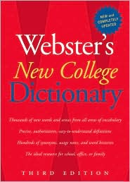 Webster's New College Dictionary