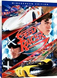 Speed Racer with Emile Hirsch: DVD Cover
