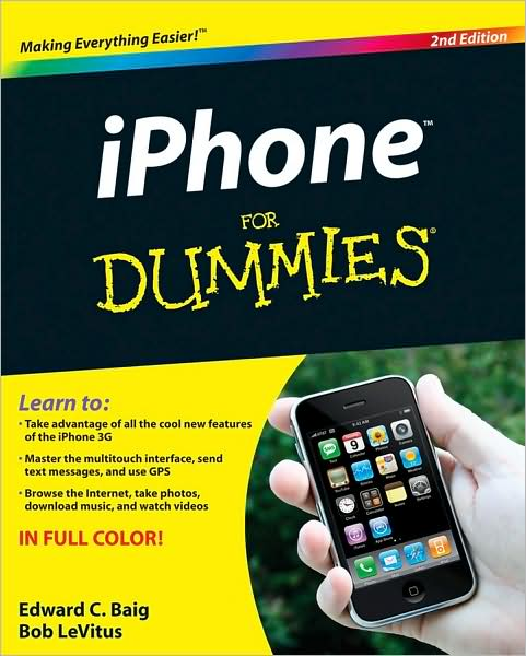 iPhone For Dummies 2nd Ed~tqw~_darksiderg preview 0