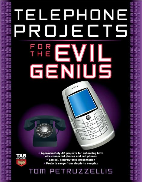 Telephone Projects for the Evil Genius preview 0