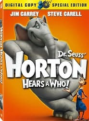 Horton Hears a Who with Jim Carrey: DVD Cover