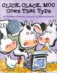 Click, Clack, Moo by Doreen Cronin: Book Cover