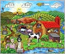 Fazzino Farm Katz 100 Piece Puzzle (B&N Exclusive) by A Blaine: Product Image
