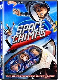 Space Chimps with Andy Samberg: DVD Cover
