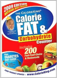 Calorie King Calorie Fat Carbohydrate Counter 2009 from search.barnesandnoble.com