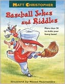 Baseball Jokes and Riddles by Matt Christopher: Book Cover