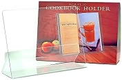 Product Image. Title: Acrylic Cookbook Holder