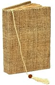 Product Image. Title: Natural Hemp Nepal Handmade Journal 5x7