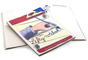 Product Image. Title: Lefty Notebook: Where the Right Way to Write Is Left