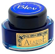 Product Image. Title: Ink Blue Calligraphy