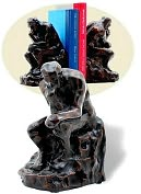 Product Image. Title: Rodin's Thinker Bookends (Paired Set)