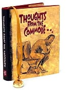 Product Image. Title: Thoughts from the Commode Mini Gift Book: Inspiring and Moving Thoughts from the Bathroom