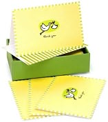Product Image. Title: Baby Stork Thank You Notes Set Of 14