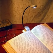 Product Image. Title: Mighty Bright Silver Xtraflex LED Booklight (Batt Inc)
