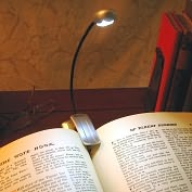 Product Image. Title: Mighty Bright Silver Xtraflex 2 LED Booklight (batt inc)