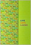 Product Image. Title: Live, Love, Laugh Writing Journal