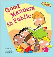 Good Manners in Public by Katie Marsico: Book Cover