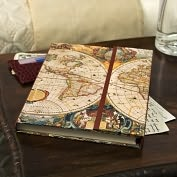Product Image. Title: Old World Map Journal with Magnetic Flap 8.25 x 6.5
