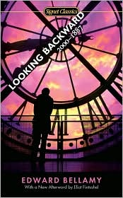 Looking Backward by Edward Bellamy: Book Cover