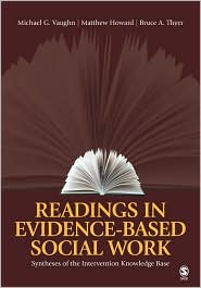 Readings in Evidence-Based Social Work by Bruce Thyer: Book Cover