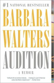 Audition by Barbara Walters: Book Cover