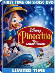 Pinocchio with Dick Jones: DVD Cover