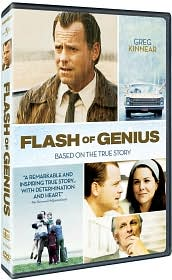 Flash of Genius with Greg Kinnear: DVD Cover