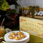 Product Image. Title: Citrus Sweets Trio and Crostata Tarts in Gift Box