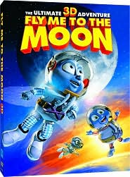 Fly Me to the Moon 3-D with Christopher Lloyd: DVD Cover