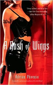 A Rush of Wings by Adrian Phoenix: Book Cover