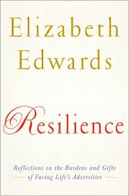Resilience by Elizabeth Edwards: Book Cover