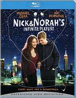 Nick & Norah's Infinite Playlist starring Michael Cera: Blu-ray Cover