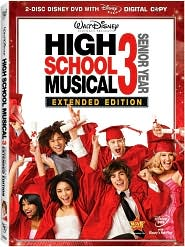 High School Musical 3 - Senior Year with Zac Efron: DVD Cover