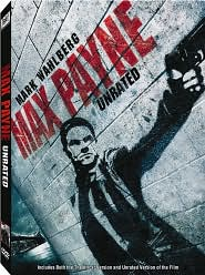 Max Payne with Mark Wahlberg: DVD Cover