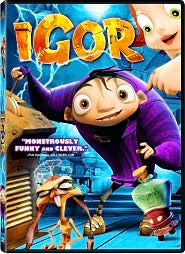 Igor with John Cusack: DVD Cover
