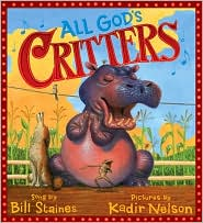 All God's Critters by Bill Staines: Book Cover