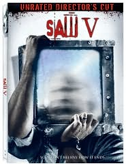 Saw V with Tobin Bell: DVD Cover