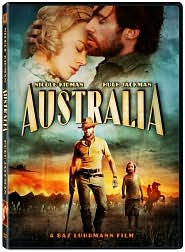 Australia starring Nicole Kidman: DVD Cover