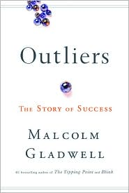 Outliers by Malcolm Gladwell: Book Cover