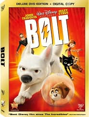 Bolt with John Travolta: DVD Cover
