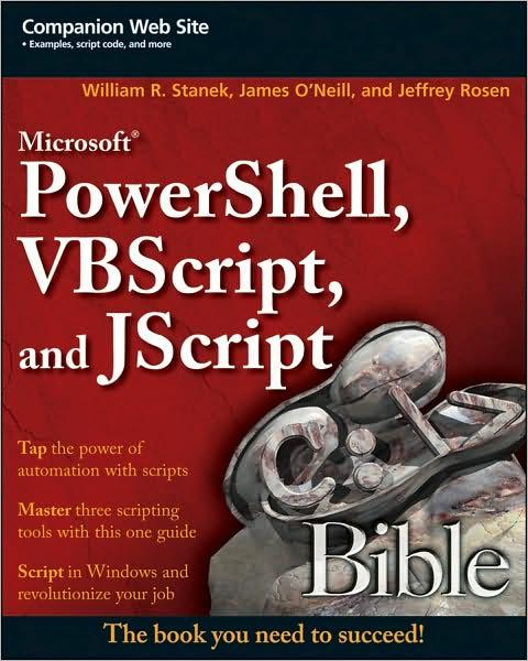 Microsoft PowerShell, VBScript & JScript Bible~tqw~_darksiderg preview 0