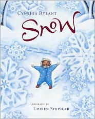 Snow by Cynthia Rylant: Book Cover