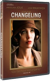 Changeling with Angelina Jolie: DVD Cover