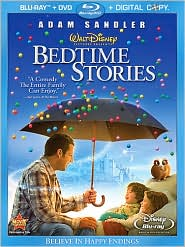 Bedtime Stories with Adam Sandler: Blu-ray Cover