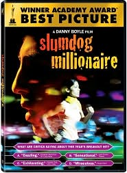 Slumdog Millionaire with Dev Patel: DVD Cover