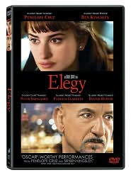 Elegy with Penélope Cruz: DVD Cover