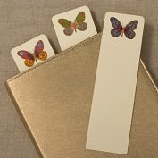 Product Image. Title: Hand Painted Butterfly Bookmark